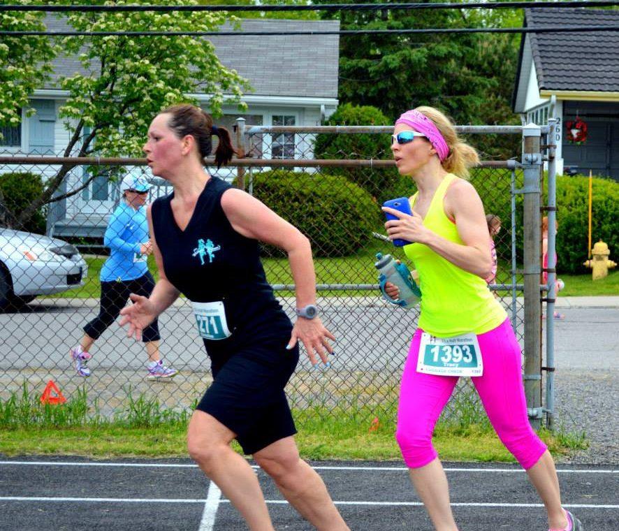Running with Christine