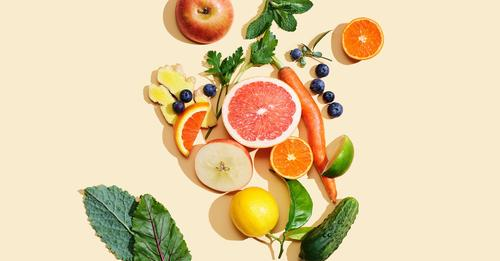 Fruits and vegetables reduce stress